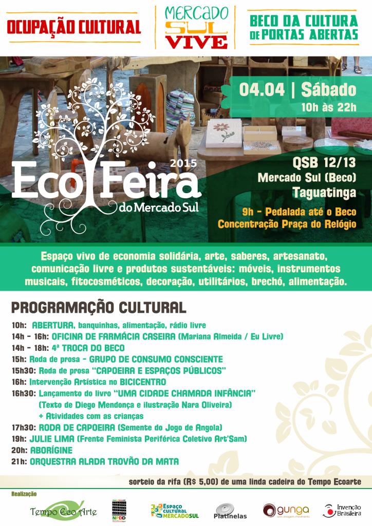 Cartaz Eco Feira - Divulgação