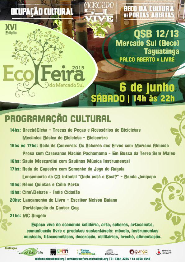 CARTAZ ECOFEIRA 06.06.15