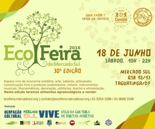 cartaz ecofeira junho 2016